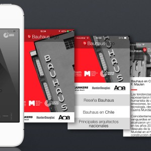 App BauhausStgo 2014