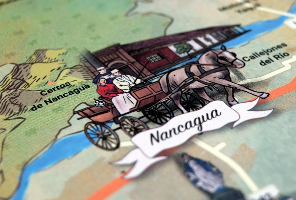 Alt164 - Caso - Colchagua Patrimonio Campesino - Marca y mapa - ilustración