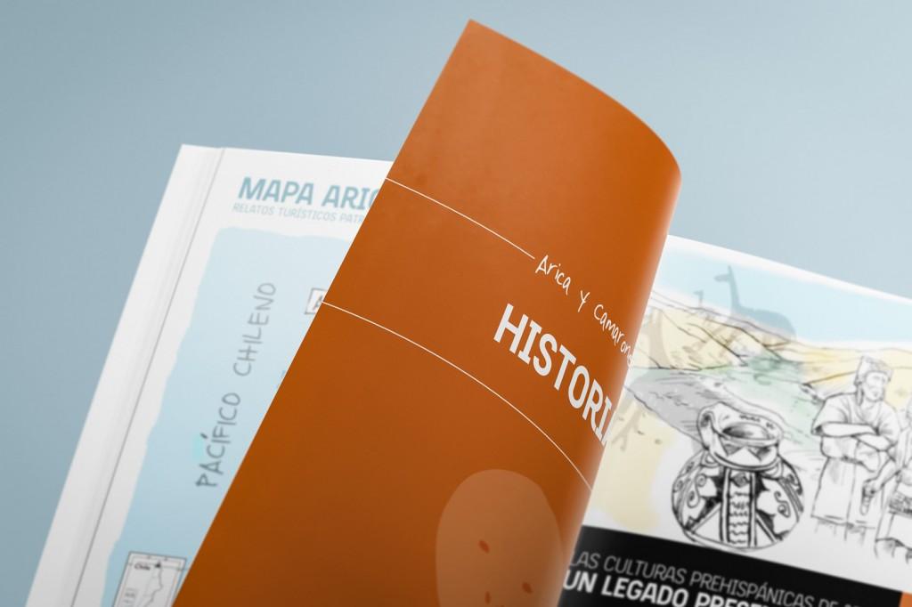 Alt164 - Caso - Relatos Turísticos Patrimoniales - Diseño y comunicación visual - Guía Arica